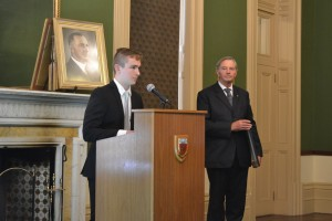 St Mark's student Alexander Makarowsky is one of five 2015 Hawker Scholars.