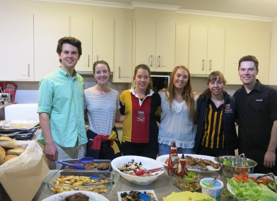 Firing up the BBQ in the name of charity