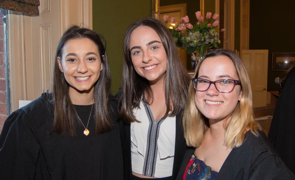 Lauren Zanelli, Meekah Sangari and Dana Yeaman