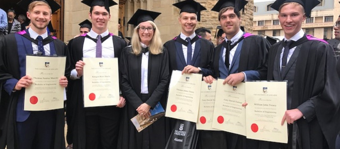 Our new Engineering graduates