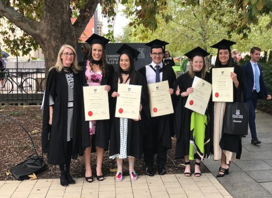 Congratulations St Mark's Law Graduates