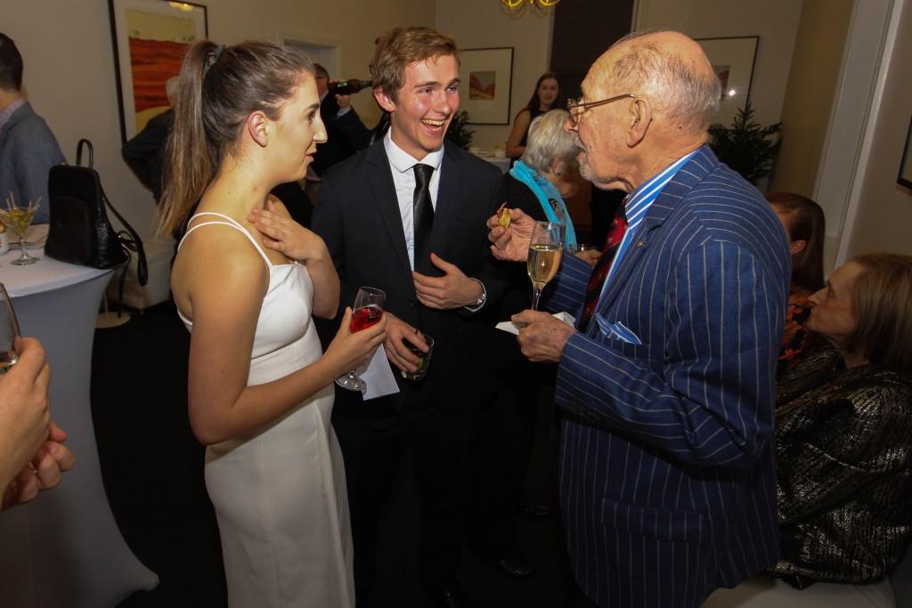 Sarina Ferguson, Alex Makarowsky & Ian Wall