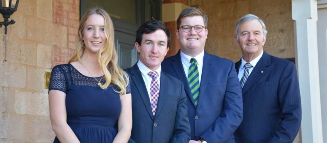 Prestigious C.A.S Hawker Scholarship presented to St Mark's student