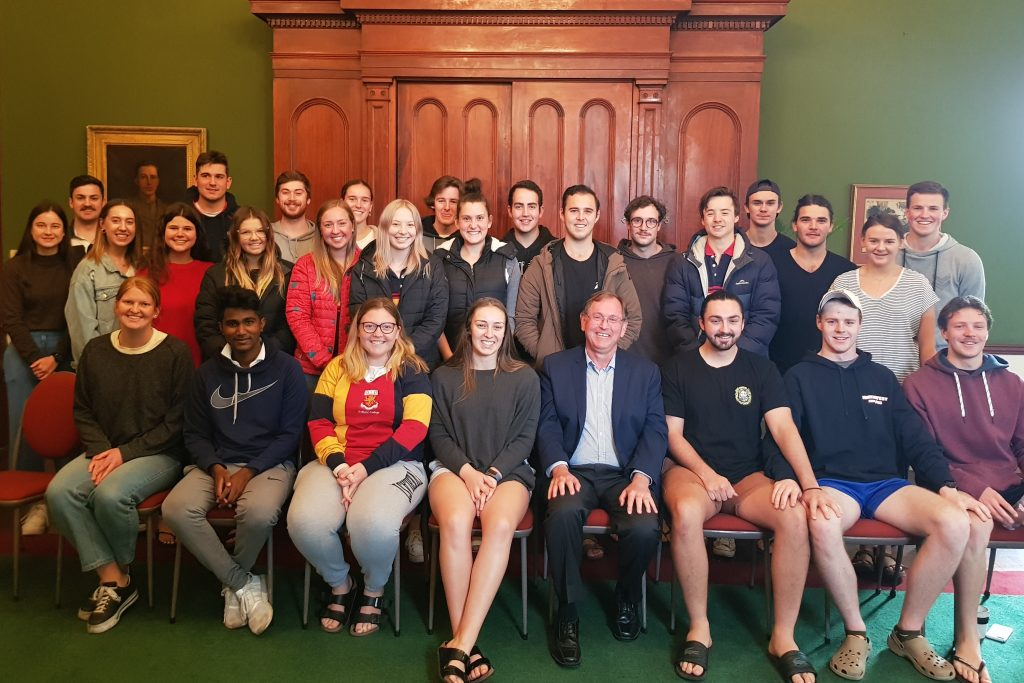 St Mark's College Student Leaders 2020
